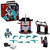 LEGO 71731 NINJAGO Battle Set: Zane vs. Nindroid Roboter Krieger mit Actionkreisel