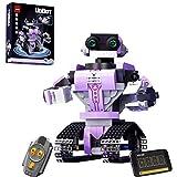 FanMei PANGU PG-13012 Programmierung Uobot Roboter Modellbaukasten, Technologieserie, 2.4G Fernbedienung & APP Steuerung kompatibel mit Lego Technologie 318 Stück