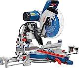 Bosch Professional Kapp- und Gehrungssäge GCM 12 GDL (Sägeblatt-Ø: 305 mm, 2.000 Watt, inkl. Doppellinienlaser, Kreissägeblatt, Spannzange, im Karton)