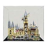 overwell Vitrine Box Schaukasten Display Case für Lego 71043 Harry Potter Schloss Hogwarts
