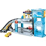 Disney Pixar Cars FWL70 Florida 500 Rennbahn-Parkhaus