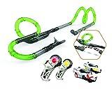 Silverlit 20232 – Infinity Racing Set – EXOST Loop – Rennbahn für Autos – mit Loopings und Sprungelementen – grün-ab 5 Jahren