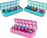 Hatchimals CollEGGtibles Schmuckkästchen 12 - er Pack Eierkarton in Pink, Blau oder Türkis