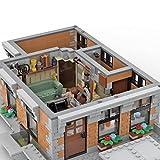 Xshion Modular Bro Thors Penthouse Bausteine, Architektur Modellbausatz, Mould King MOC-84752, 818 Tile Modular Building Klemmbausteine Haus, Architektur Bausteine Kompatibel mit Lego