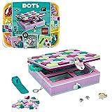 LEGO 41915 DOTS Schmuckbox, Schmuckkästchen für Mädchen und Jungen, Kinderzimmer-Deko, Basteln für Kinder