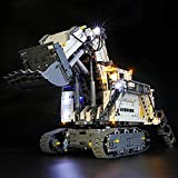 BRIKSMAX Led Beleuchtungsset für Lego Technic Liebherr Bagger R 9800,Kompatibel Mit Lego 42100 Bausteinen Modell - Ohne Lego Set