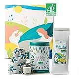 ORIGEENS BIO TEESET MUTTERGLÜCK   Geschenkidee für werdende Mütter und Geschenk zur Geburt   Schwangerschaftstee / Wochenbett Tee + Stilltee + Tee-Ei