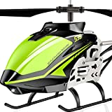 SYMA ferngesteuert Helikopter RC Hubschrauber Helicopter Fernbedienung Indoor Outdoor Flugzeug S39 3.5 Kanal 2.4 Ghz LED Gyro Grün Geschenk Kinder