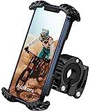 Handyhalterung Fahrrad, Autkors Handyhalter Motorrad-Universal 360° Drehbare Lenker Handy Halterung für 4,7-7,0' Smartphone wie iPhone 12 Pro Max/12 Mini/11 Pro Max/Xs Max/XR/X, Galaxy S10/S9/S8 usw.