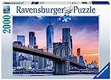 Ravensburger Puzzle 16011 - New York, von Brooklyn nach Manhattan - 2000 Teile Puzzle für Erwachsene und Kinder ab 14 Jahren, Stadt-Puzzle mit New York-Motiv