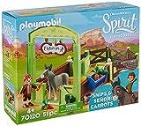 PLAYMOBIL DreamWorks Spirit Riding Free 70120 Snips & Herr Karotte, ab 4 Jahren