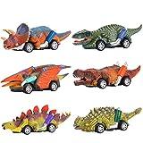 Dreamingbox Spielzeug für Jungen 2-8 Jahre, Dinosaurier Auto Spielzeug Geschenk Junge 2-8 Jahre Kinder Spielzeug Jungen Spielzeugauto Kindertag Geschenk Spielzeug Mädchen 2 3 4 5 6 7 Jahre