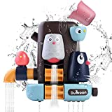 JBSON Badespielzeug,Babyspielzeug,Kleinkinder Badespielzeug Badewanne Spielzeug Spiele Dusche Spielzeug mit Saugnäpfen Wasserfall Spielzeug Set Spaß Bad Zeit Wasser Spielzeug für Babys Jungen Mädchen