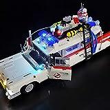 KCGNBQING Lichtsatz for Lego Ghostbusters Ecto-1-LED Beleuchtungsset Kompatibel mit Lego 10274 Ghostbusters Ecto-1. Zusammenbau von Lego-Bausteinen (Color : Basicversion)