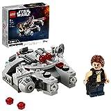 LEGO 75295 Star Wars Millennium Falcon Microfighter Spielzeug mit Han Solo Minifigur für 6-jährige Jungen und Mädchen