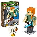 Lego 21149 Minecraft BigFig Alex mit Huhn