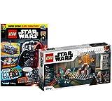 Lego Set - Star Wars Duell auf Mandalore 75310 + Star Wars Heft Nr. 76 (Comics, Poster) mit Polybag Clone Turbo Tank