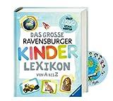 Das große Ravensburger Kinderlexikon von A bis Z (Ravensburger Lexika) + Weltkarten-Sticker