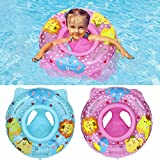Yban Baby Schwimmring,Baby schwimmring mit schwimmsitz, Aufblasbarer schwimmreifen Kleinkind,Pool Baby Schwimmen Ring,Kinder Schwimmreifen Spielzeug (Rosa)