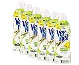 Vernel Naturals Weichspüler, Ylang Ylang & Süßgras, 100% vegan, 99% naturbasierte Inhaltsstoffe, ohne Silikone und Farbstoffe (192 (6 x 32) Waschladungen)
