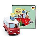 tonies Hörfigur für Toniebox, Eule findet den Beat – Auf Europatour, Kinderlieder und Hörspiel für Kinder ab 4 Jahren, Spielzeit ca. 92 Minuten