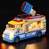 BRIKSMAX Led Beleuchtungsset für Lego City Eiswagen - Compatible with Lego 60253 Bausteinen Modell - Ohne Lego Set