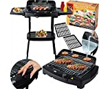 Livemore 'Gril-Master' BBQ Barbeque Elektro-grill Cool-Touch Elektrischer Grill Elektrogrill Balkon Tischgrill (Standgrill)