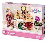 Zapf Creation 827222 BABY born Great Value Set Puppenkleidung und Accessoires für Adventskalender, mehr als 24 Teile