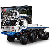 WXBXIEJIA Technik Geländewagen Mould King 13144 Technic Custom Bausteine, Ferngesteuert 2.4G RC Off-Road LKW Bauspielzeug, Kompatibel mit Lego Technik13144-Off Road Truck