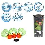Speedminton CROSS Speeder – 3er Pack Speed Badminton/Crossminton Outdoor Ball inkl. Windring