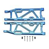 Kompatibel mit ARRMA 1/8 KRATON 6S RC Car Dauerhaft Aluminium Hintere niedrige Arme Teile (Blau, A)
