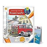 Ravensburger ® tiptoi Unterwegs mit der Feuerwehr + Kinder Weltkarte - Länder, Tiere, Kontinente