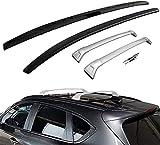 2 Stück Auto Dachträger für Mazda CX5 CX-5 2017 2018 2019 2020, Dachreling Grundträger Dachgepäckträger und Dachboxen(A)
