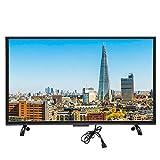 Goshyda 32'' Großer Gebogener Monitor, Netzwerkversion Smart 3000R Curvature TV 4K HDR HD TV mit Künstlicher Intelligenz Voice & HDR Real Time Conversion(US)