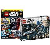 Lego Set - Clone Troopers der 501. Legion 75280 + Star Wars Heft Nr. 76 (Comics, Poster) mit Polybag Clone Turbo Tank