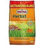 Substral Herbst Rasendünger, kaliumreicher Spezial-Rasendünger mit lang anhaltender Wirkung für 500 m², 12,5 kg Sack