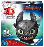 Ravensburger 3D Puzzle 11145 - Dragons 3 Ohnezahn mit Ohren - 72 Teile