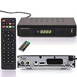 RED OPTICUM C200 HD Kabelreceiver mit Aufnahmefunktion PVR I Digitaler Kabel-Receiver HD - EPG - HDMI - USB - SCART - Coaxial Audio I Receiver für Kabelfernsehen I DVB-C Receiver schwarz