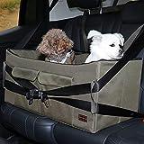 Petsfit Haustier - Autositz mit Sicherheitsgurt - Sicherheit und Komfort für Reisen - Maschinenwaschbare, herausnehmbarer Vlies- Tiersitz für Hund und Katze zum Umschauen
