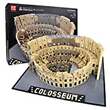 Mould King 22002 Architecture Kolosseum Modell,MOC 6466 Teile Groß Römisches Colosseum Klemmbausteine Bauset Kompatibel mit Lego Architecture brickgloria