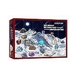 Weihnachtskalender Adventskalender, Erz Weihnachts Adventskalender Ultimate Exemplar Sammlungsgeschenk, 24 Rock Exemplare, Perfektes Geschenk Für Kinder Und Erwachsene