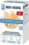 BodyMedica Kohlenhydrat Blocker, reduziert die Kalorienaufnahme aus Kohlenhydraten und wirkt als Appetitzügler in Folge einer Mahlzeit, unterstützt Gewichtsabnahme bei Übergewicht, 1 x 120 Tabletten