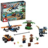 LEGO 75942 Jurassic World Velociraptor: Rettungsmission mit dem Doppeldecker 4+ Dinosaurier Spielzeug für Vorschulkinder
