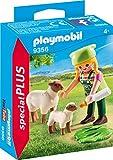 PLAYMOBIL Special Plus 9356 Bäuerin mit Schäfchen, ab 4 Jahren