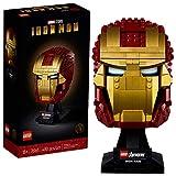 LEGO 76165 Super Heroes Marvel Iron Mans Helm, Bauset, Sammlerobjekt für Erwachsene, Geschenkidee