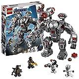 LEGO 76124 Marvel Avengers War Machine Buster Actionfigur, inkl. Ant-Man Minifigur, Konstruktionsspielzeug