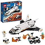 LEGO City Space Port Mars Research Shuttle 60226 Space Shuttle Toy Building Kit, Top STEM Toy for Boys and Girls (273 Pieces)