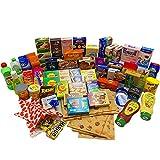 HUIJK 90 TLG Kaufladenzubehör Miniaturen Kaufladen Kinderküche Kaufmannsladen Zubehör