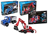 3in1 Super RaceTruck-Set, 536 Teile (kompatibel mit Lego Technic) C52011W C52012W