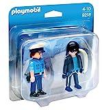 PLAYMOBIL 9218 - Duo Pack Polizist und Langfinger